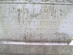 Lucy Elizabeth <i>Cook</i> Amadon