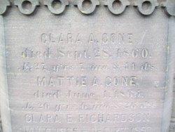 Clara A Cone