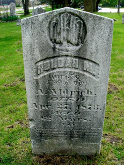 Huldah M. <i>Knapp</i> Aldrich