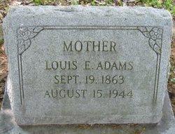 Louis Edward Lulu <i>Tinsley</i> Adams