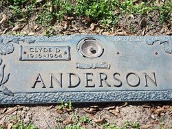 Clyde D Anderson