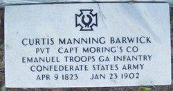 Dr Curtis Manning Barwick