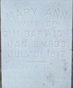 Mary Ann <i>Kea</i> Barwick