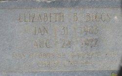 Elizabeth <i>Bumgarner</i> Biggs