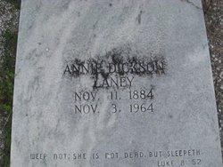 Annie Otila <i>Dickson</i> Laney