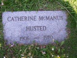 Catherine <i>McManus</i> Husted