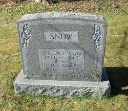 Burton F Snow