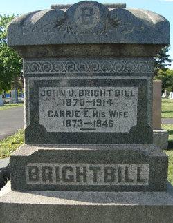 Carrie E <i>Hocker</i> Brightbill