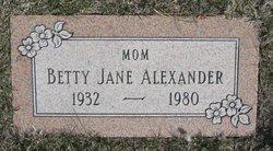 Betty Jane <i>Dunlop</i> Alexander