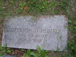 Jefferson D Hunter