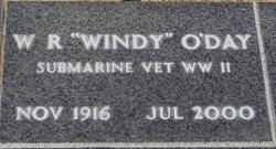 W. R Windy O'Day