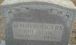 Maud <i>Rodgers</i> Aultman
