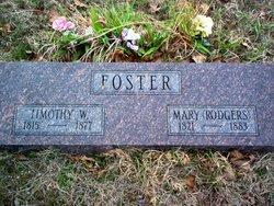 Mary Minnie <i>Rodgers</i> Foster