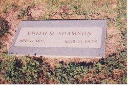 Edith Mae <i>Thurston</i> Adamson
