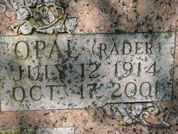 Opal E <i>Rader</i> Alexander