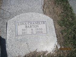 Lona <i>Chandler</i> Barton