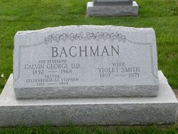 Violet <i>Smith</i> Bachman