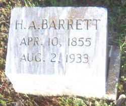 H. A. Barrett