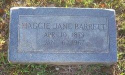 Maggie Jane Barrett