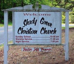 Shady Grove Christian Church Cemetery