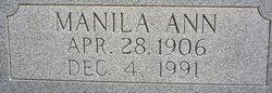 Manila Ann Nila <i>Lentz</i> Anglin