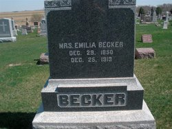 Emelia Margaret <i>Niemeyer</i> Becker
