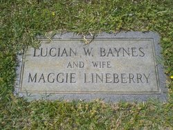 Margaret E. Maggie <i>Lineberry</i> Baynes