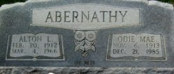 Odie Mae <i>Hall</i> Abernathy