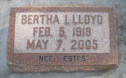 Bertha Irene <i>Estes</i> Lloyd