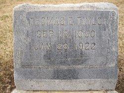Thomas Edwards Taylor