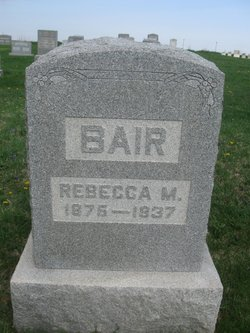 Rebecca May <i>Brumbaugh</i> Bair