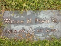 William M Peach, Sr