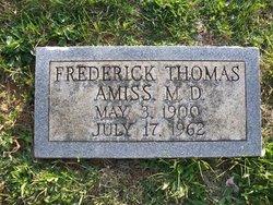 Dr Frederick Thomas Amiss