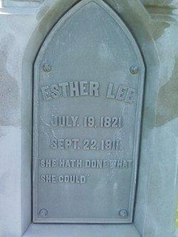 Mrs Esther <i>Winter</i> Lee