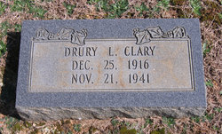 Drury L Clary