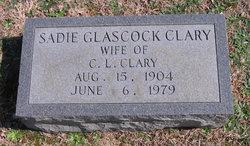 Sadie <i>Glascock</i> Clary
