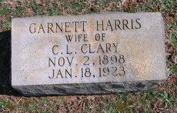 Garnett <i>Harris</i> Clary