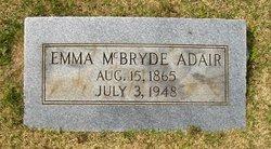 Emma <i>McBryde</i> Adair