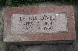 Leunia <i>Lovell</i> Cadwalader