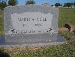 Martha Cole