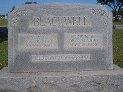 Edwin W. Blackwell