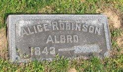 Alice <i>Robinson</i> Albro