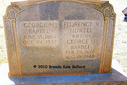Florence V <i>Howell</i> Barbee