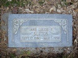 Jane Louise <i>Richards</i> Burton