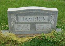Nancy <i>Murphy</i> Hamrick