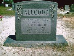 Josephine <i>Evans</i> Allgood