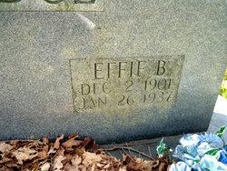Effie B Aldridge