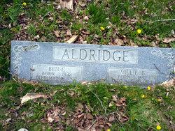 Millie <i>Burleson</i> Aldridge