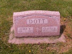Elmer W Dott