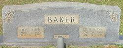 Clara Ruth <i>Hays</i> Baker